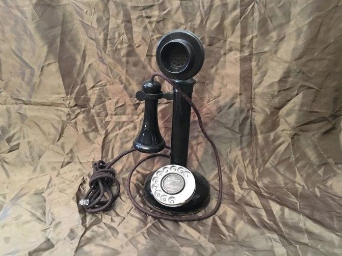 Oude telefoon bakeliet