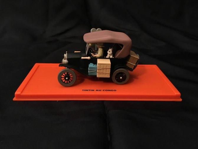 Auto Tintin au Congo