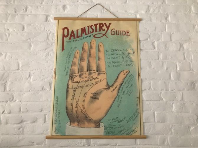 Cavallini poster palmistry